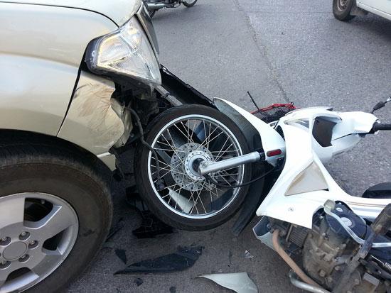 mopedunfall